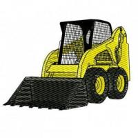 Buy cheap Construction Equipment Skid Steer Skidsteer Bobcat Embroidery Design from wholesalers