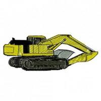Buy cheap Heavy Construction Equipment Back Hoe Hi Hoe Embroidery Design from wholesalers