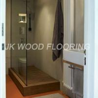 Quality Parquet Wood Flooring Burma-Teak-Custom-Shower-Parquet-Flooring-2 for sale