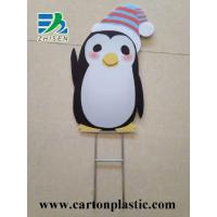 China Corrugated Plastic Signs With Wire Stake on sale
