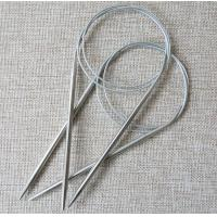 Quality cheap wholesale high quality 80cm stainless steel circular knitting needle for sale