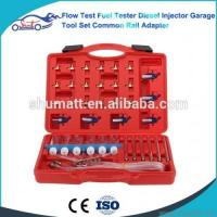 China Flow Test Fuel Tester Diesel Injector Garage Tool Set on sale