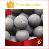 Buy cheap Wear-Resistant Forged Steel Ball for Zinc Mine from wholesalers