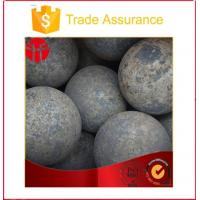 Buy cheap High Hardness B2, 60mn Forged Grinding Steel Ball (dia30mm) from wholesalers