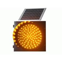 China Solar yellow flashing red traffic light slow on sale