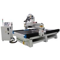 China Disc Type Tool Magazine Vacuum Table Syntec Controller Wood Carving ATC CNC Router on sale