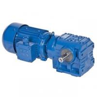 China S series helical worm geared motor on sale