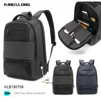 China Kingslong water proof business laptop backpack on sale