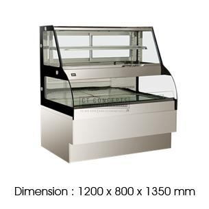 Buy Bakery Equipment FGYLR1200C | Combination Showcase at wholesale prices
