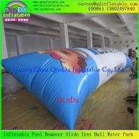 China Hot Sale 0.9mm Thickness PVC Tarpaulin Jumping Pillow Water Air bag Inflatable Blob on sale