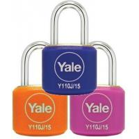 Buy cheap Y110J/15/111/2 - Yale Classic Series Indoor Color Brass Padlock 15mm from wholesalers
