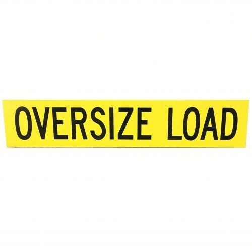 Buy Construction Signs Oversize Load Sign (Plywood) at wholesale prices