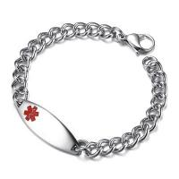 China Wholesale Stainless Steel Womens Medical Bracelet #BR-499 on sale