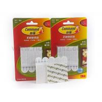 China Medium size 3M Command Picture Hanging Strips Acrylic Tape and Mushroom white color on sale