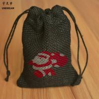 Quality Source Manufacturers Produce Wholesale Drawstring Jute Bag Cosmetics Packaging Bags for sale