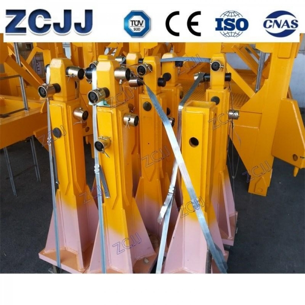 China Tower Crane Bases Fixing Angle Bases Fixing Angles For K639A Mast