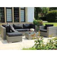 Buy Hot sale courtyard cafe garden furniture outdoor rattan sofa set at wholesale prices