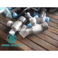 Quality Marine Male Thread Angle Steam Safety Valve CB3192-83 for sale