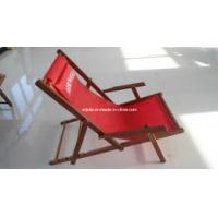 Quality Wooden Sling Deck Fishing Chair for sale