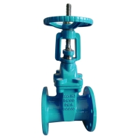 Quality Resilent seated rising stem gate valve for sale