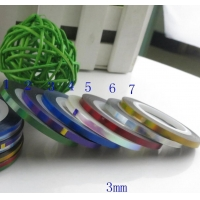 China BIN Nail Stripping Tape /double sticker on sale