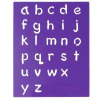 Quality Alphabet PP Stencil Glossy for sale