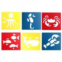Quality Animal PP Stencil Glossy for sale