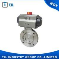 Pneumatic Triple Eccentric High Quality Butterfly Valve