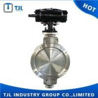 Quality Stainless steel Wafer Triple Eccentric Butterfly Valve ANSI for sale