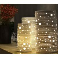 Buy cheap Hot Sale Table Lamp with Wood Lampshade from wholesalers