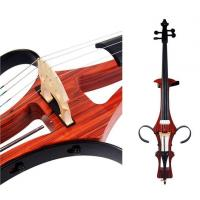 Quality Professional Coloured Electric Cello 4/4 with Cello Bow for sale