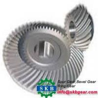 Quality Helical Gear Precision Metal Truck Differential Rear Drive Axle Spiral Bevel Gear for sale