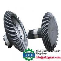 Quality Iso90Forging Cnc Machined Small Worm Gear Bevel Gear With Steel Hobbing Gear for sale