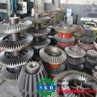 Quality Straight bevel gear 34CrNi3MoA Coal mining machinery parts GB for sale