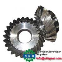 Quality Custom steel small helical bevel gears for sale