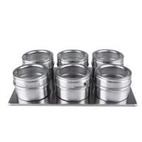 Buy cheap Magnetic Spice Jars Stainless from wholesalers