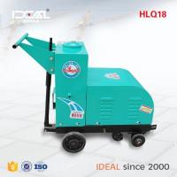 Quality HLQ18concrete cutter for road electric road cutting machine asphalt road cutter 7.5KW for sale