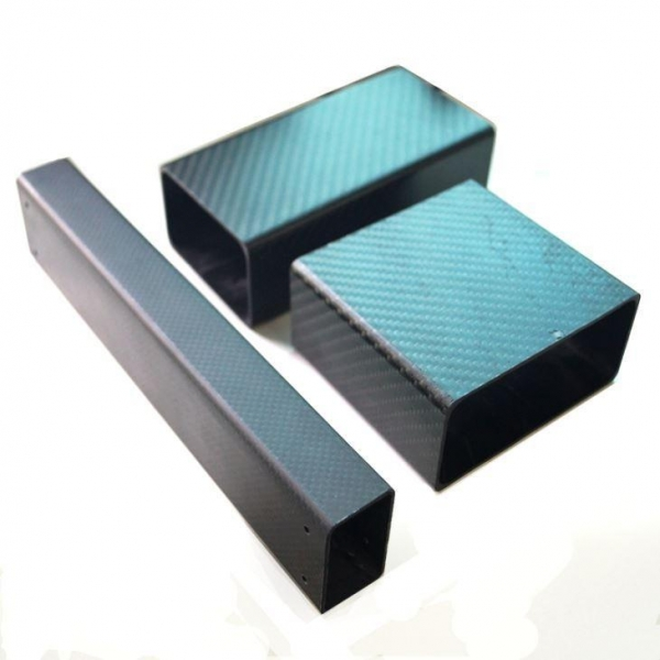 Buy Customize 3K Carbon Fiber Square Tube Hollow Section at wholesale prices