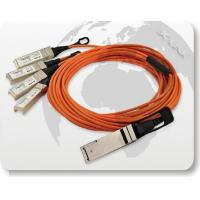 Quality 40G QSFP to 4x10G SFP+ Parallel Fan-Out Fiber Cable for sale
