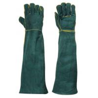 China Welding safety gloves China welding gloves sheepskin leather gloves with lining GL70 on sale