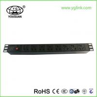 China PDU with Overload Protection and Indicator Light