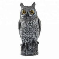 Quality new design plastic for birds home depot artificial owl for sale