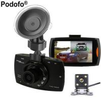 2017 New Podofo Two lens Car DVR Dual Camera G30 1080P Video Recorder