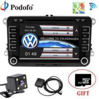 "Quality Podofo Car Radio DVD Player 2 din GPS radio stereo 7"" Bluetooth Multimedia USB 2din Autoradio for sale"
