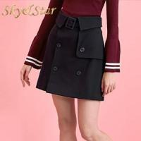 Buy cheap Latest fashion casual A-Line short high waisted mini skirt for summer from wholesalers