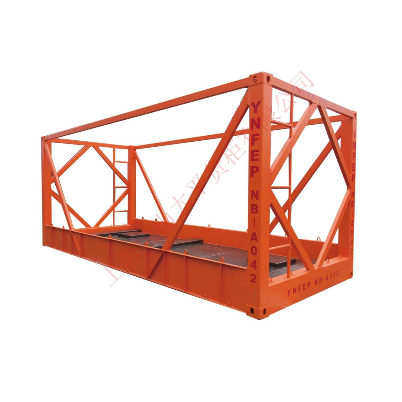 Quality 20'Transport frame container for sale