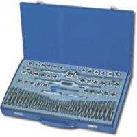 Quality Drilling 110PCS Metric & SAE Tap and Die Set,Alloy Steel for sale