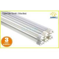 China 10 Watt Smd LED T8 Tube 600mm / 2ft fluorescent tubes for indoor on sale