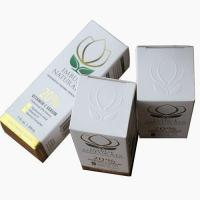 Buy cheap Paper box embossed paper box with the custom foil stamped logo from wholesalers