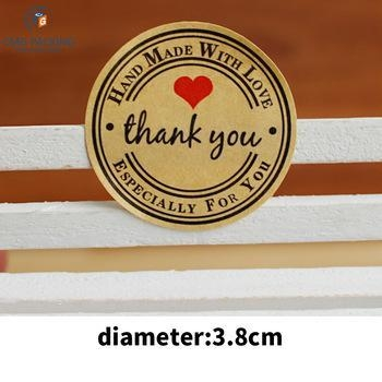 Buy customized design accept round shape sticker at wholesale prices